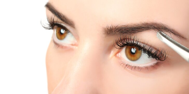 Zvýrazněte svou krásu: úprava, barvení a laminace obočí