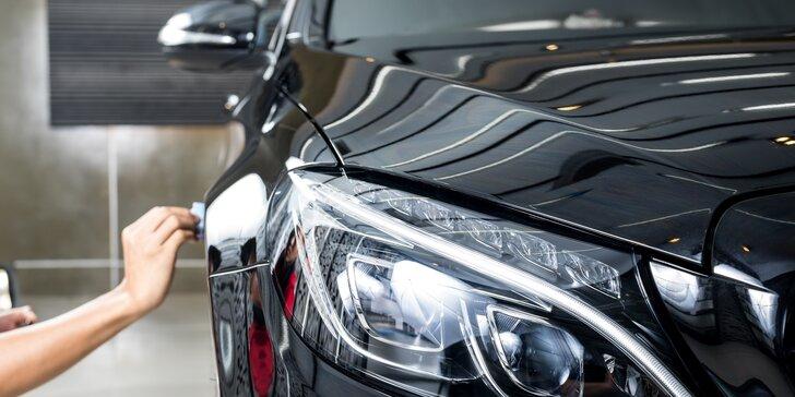 Hoďte své auto do gala: kompletní čištění včetně rozleštění laku karoserie