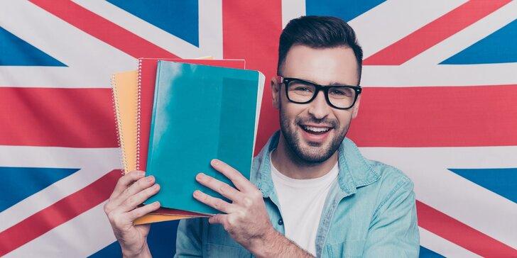 Letní skupinový online kurz angličtiny: 8 lekcí, studijní materiály v ceně