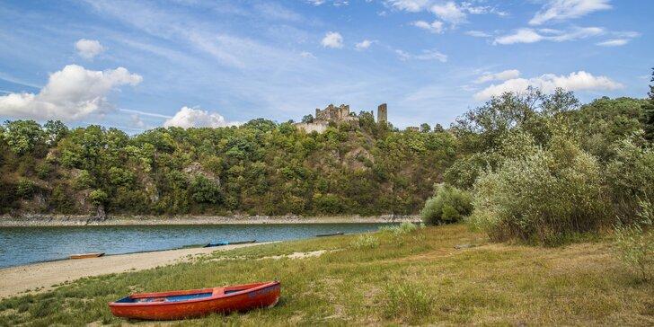 Komfortní apartmány s pláží u Vranovské přehrady s bazénem, saunou i lodičkami