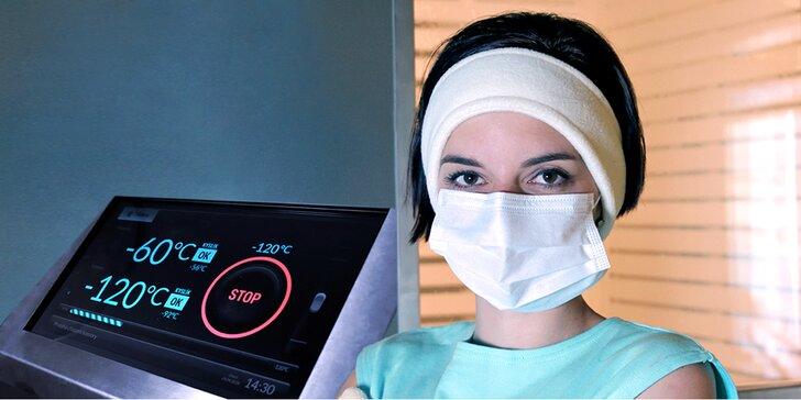 Podpora imunity a zdraví i boj proti celulitidě: vstupy na kryoterapii v až -130 °C