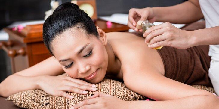 60minutová olejová masáž a rybičky Garra Rufa v Thajském ráji