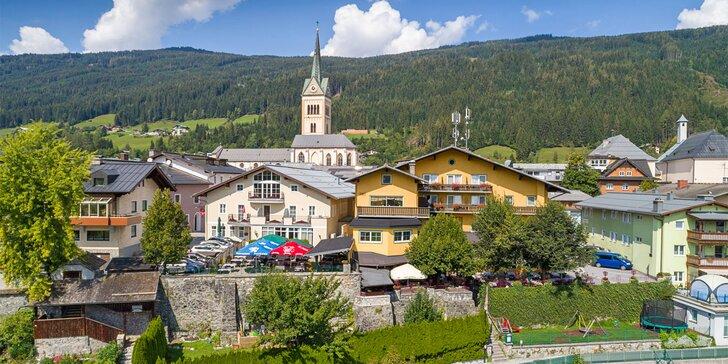 Léto i podzim v krásné rakouské přírodě: pobyt s polopenzí i saunou