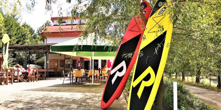 Půjčení paddleboardu na Brněnské přehradě: 1, 2 i 3 hodiny nebo celý den