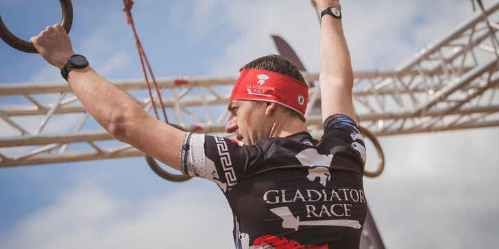 Gladiator Race Nová Paka: registrace do extrémního závodu pro jednotlivce, startovní balíček a medaile