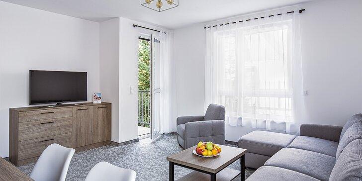 V páru, s rodinou či partou za odpočinkem: moderní apartmány v polském lázeňském městečku 15 km od hranic