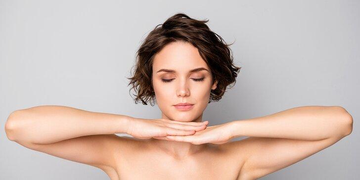 Radiofit: ošetření obličeje, dekoltu, krku i podbradku pomocí radiofrekvence