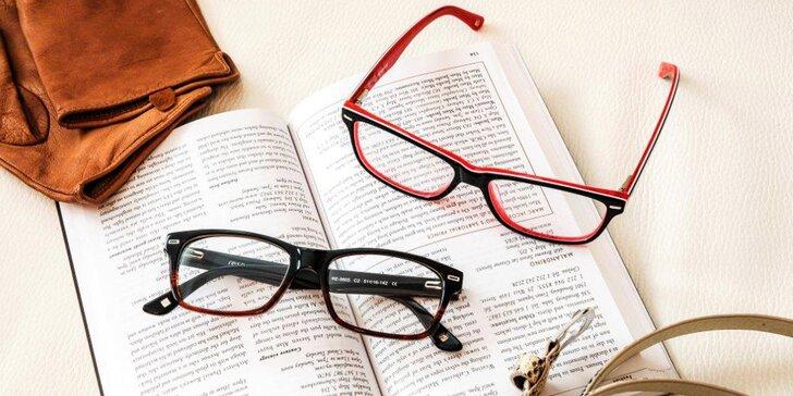 Bystrý zrak: vouchery na brýlové obruby a čočky až do hodnoty 3000 Kč