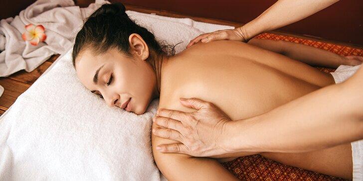 Thajské masáže pro 1 osobu: tradiční, relaxační olejová nebo aloe vera, 60 nebo 90 minut
