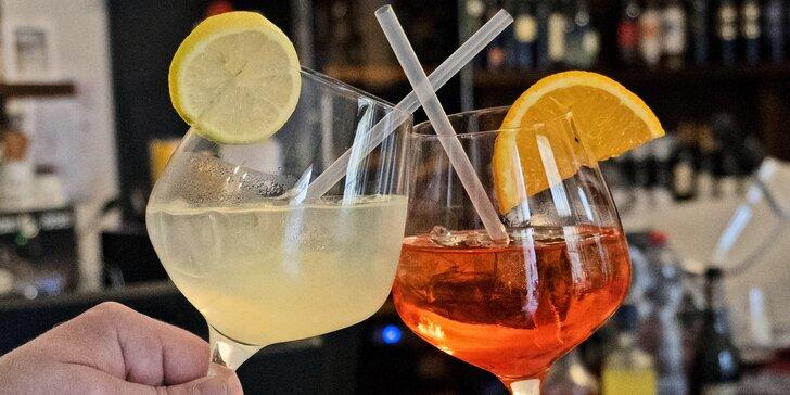 Osvěžující letní drinky: Aperitivo, Limoncello či Hugo Spritz