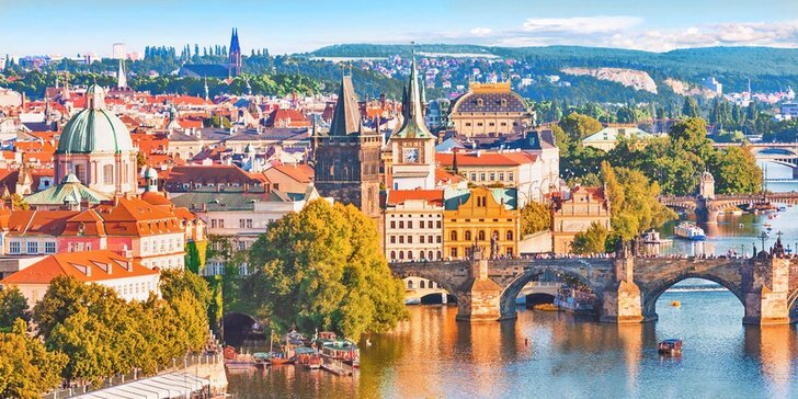 2 až 4 dny v kouzelné Praze – snídaně i bazén a sauna neomezeně