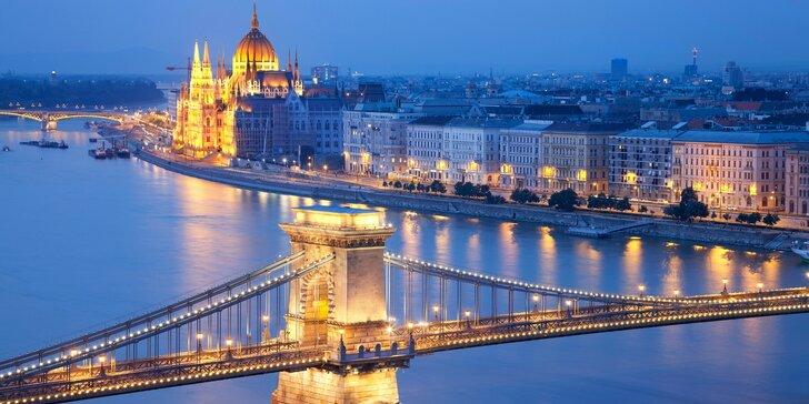 4* dovolená v Budapešti: ubytování se snídaní a neomezeným wellness