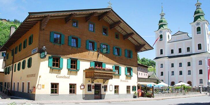4–8 dní v Tyrolských Alpách: apartmán až pro 4 osoby i polopenze
