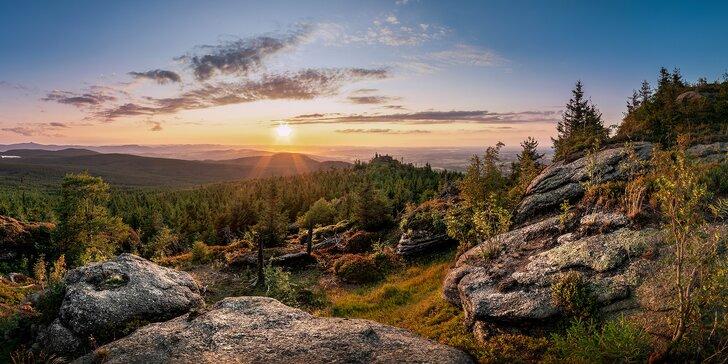 Aktivní letní pobyt v Jizerských horách s polopenzí