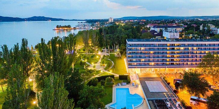 Parádní pobyt v Maďarsku: ubytování s polopenzí, wellness, fitness v zahradě a zábava pro děti