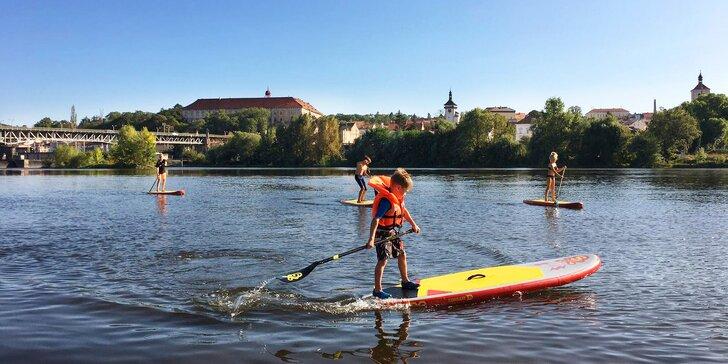 Zapůjčení paddleboardu v Roudnici nad Labem: 60 či 120 minut i na půl dne