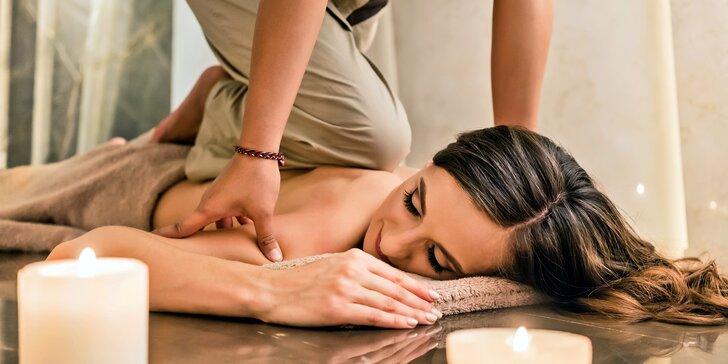 Tradiční thajské hýčkání pro jednotlivce či páry: masáž pleti i celého těla