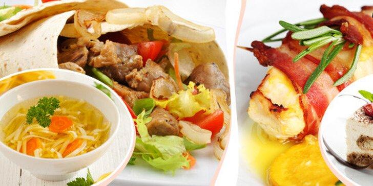 2chodové menu pro dva v restauraci Ameno