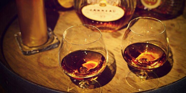 Rumový kurz s ochutnávkou sedmi špičkových rumů ve Vršovicích