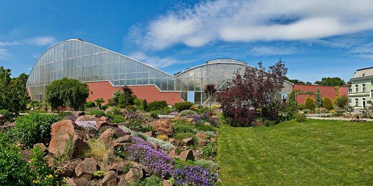 Botanická zahrada Teplice: vstupenky pro 1 i 2 osoby