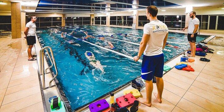 Individuální kurz plavání pro začátečníky i zkušené plavce: 1 nebo 5 lekcí