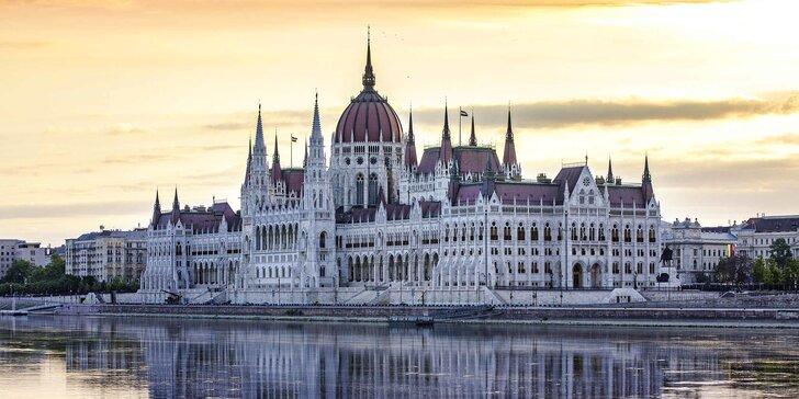 Dovolená v srdci Budapešti: 4* ubytování se snídaní a procházky městem
