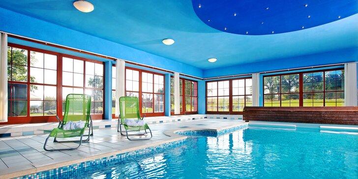 Pohodový pobyt v Jindřichově Hradci: polopenze, relax i bazén