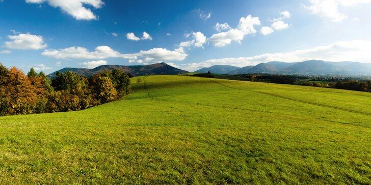 Aktivní dovolená na Severní Moravě: ubytování v chatkách, snídaně či polopenze a spousta výletů