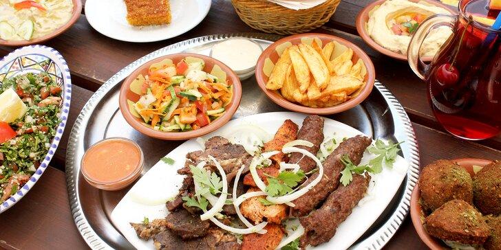 Gurmánský výlet do Orientu: bohaté 4chodové menu s výběrem z grilu