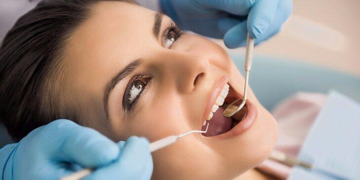 Zářivý úsměv: dentální hygiena vč. ultrazvuku pro zářivý úsměv