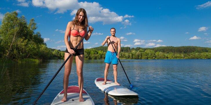Plavte se po Vltavě: půjčení paddleboardu pro 1 nebo 2 osoby až na 2 hodiny