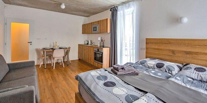 Aktivní dovolená v Krkonoších: krásné nové apartmány ve Vrchlabí až pro 4