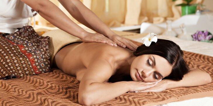 Nechte se hýčkat: 30–120 minut uvolňující masáže dle výběru