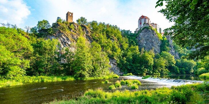 Letní relax pro nenáročné: bungalovy u Vranovské přehrady pro 5 osob