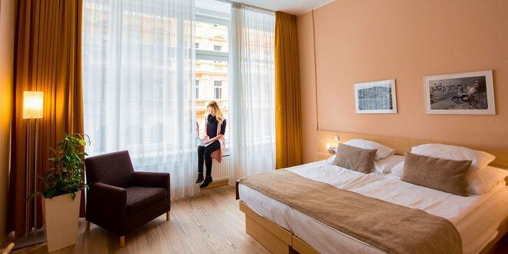 4* romantický pobyt v centru Prahy: snídaně nebo privátní wellness