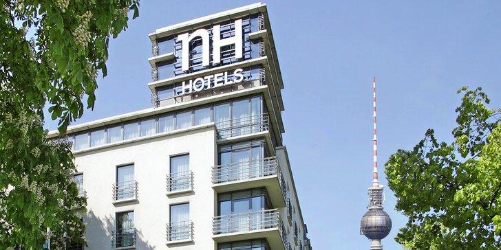Dovolená v Berlíně: 4* hotel se snídaní a neomezeným wellness, blízko centra