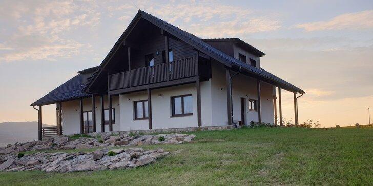 Pobyt v Beskydech pro 2–5 nocležníků: ubytování v rodinném penzionu, snídaně, 1 hod. privátní vířivky