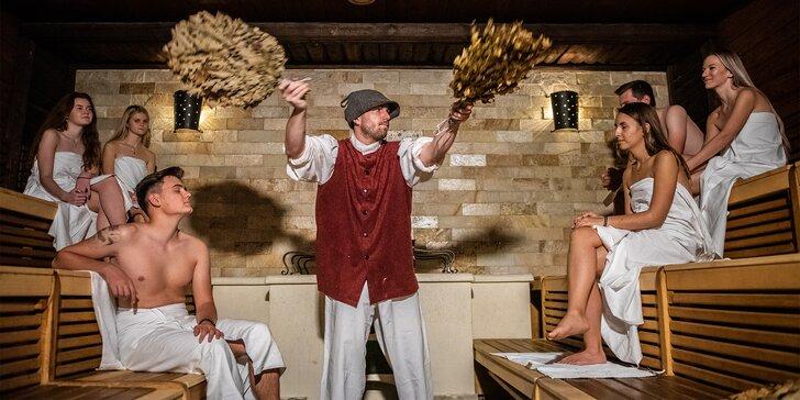 Relaxační den ve Spa Aquapalace: 2 hodiny v saunovém světě, masáž, kosmetika i peeling