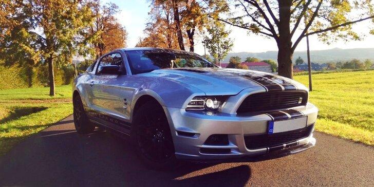 Upravený Ford Mustang: 30 min. spolujízdy nebo až 60 min. řízení