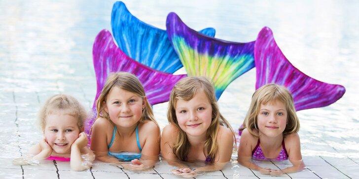 Mermaiding na zkoušku: plavání v kostýmu mořské panny pro děti
