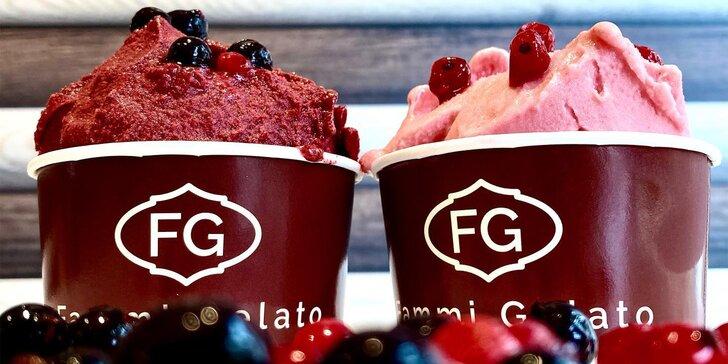 Velká porce či 500–1000ml vanička zmrzliny dle výběru až z 8 druhů