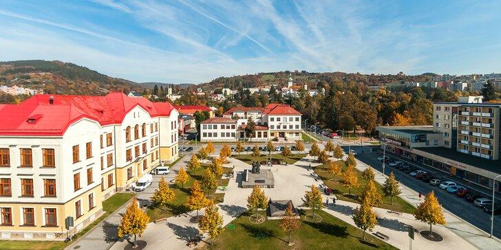 Až 15denní dovolená na Valašsku: hotel v centru Vsetína a snídaně