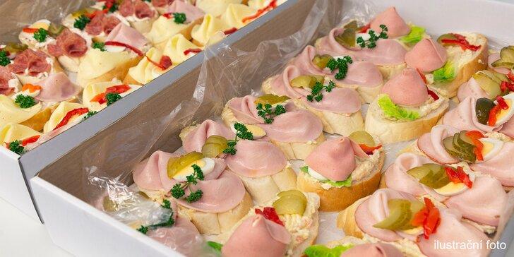 Oslňte návštěvu skvělým pohoštěním: 10 chlebíčků z Cukrárny Lilly
