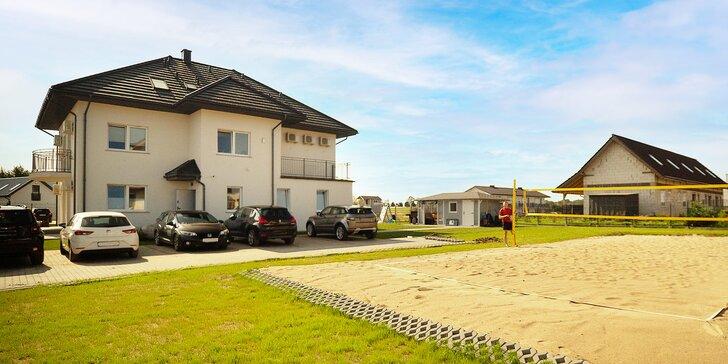 Pohodová dovolená u Baltského moře: pláž, grilování i turistika a sportování