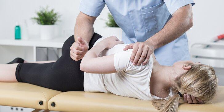 Terapie pohybového systému s podrobným vyšetřením svalů pro 1 osobu