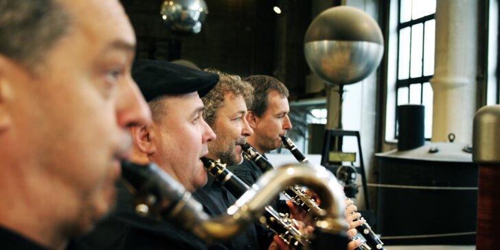 Vstupenka na open air koncert Clarinet Factory na zámku