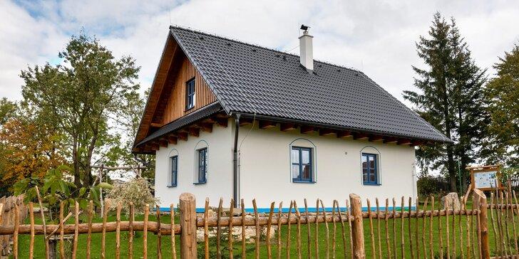 Chalupa na rozhraní Železných hor a Žďárských vrchů: sauna, hřiště i venkovní posezení