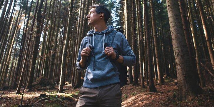 Najděte se s přáteli v neznámé přírodě: outdoorový zážitek pro 2–6 lidí s dobrou orientací
