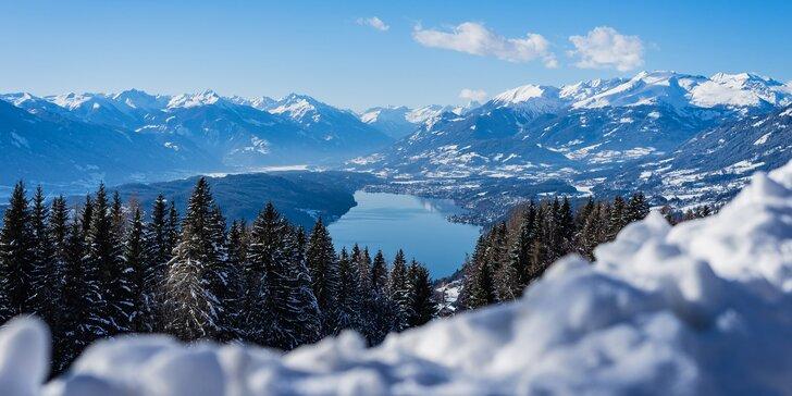 Zimní dovolená v Rakousku: 4* hotel se snídaní či polopenzí a neomezený relax ve wellness centru