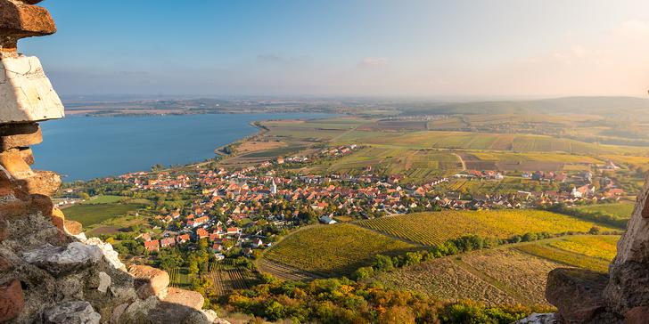 Penzion na Pálavě: polopenze, vinné stezky pro cyklisty i večery plné vína